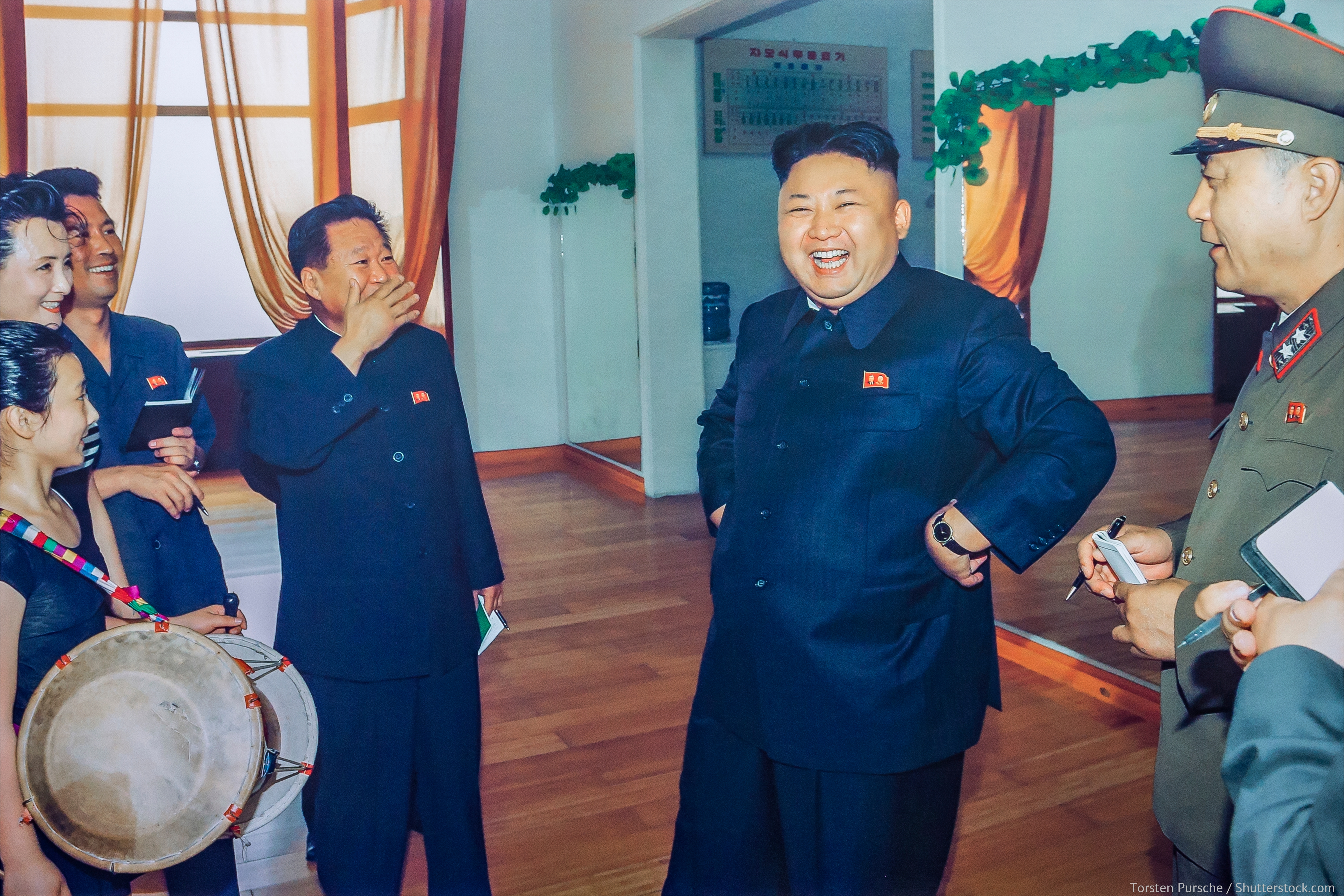 North Korea hosts free and fair elections