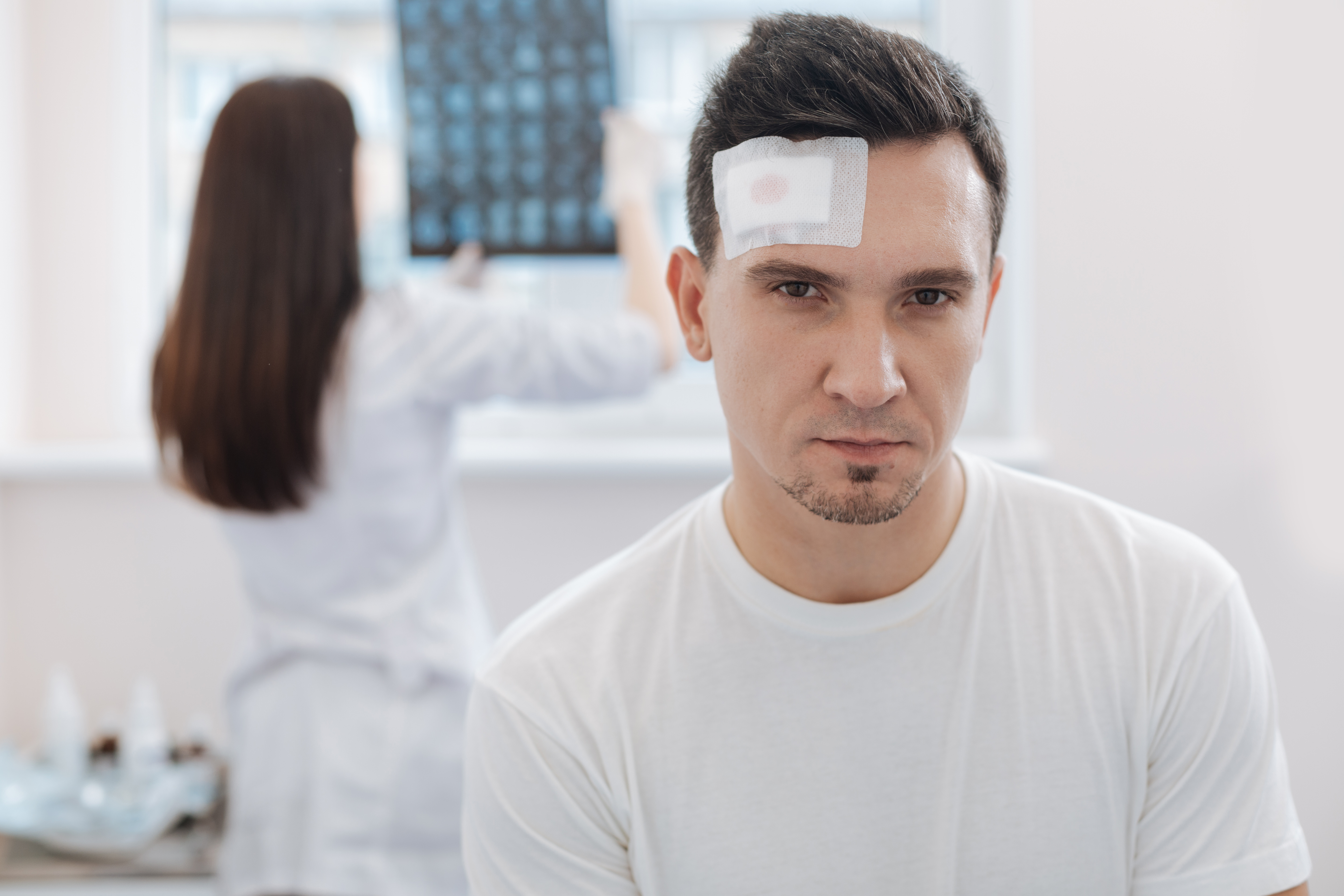 Man gets concussion after fainting when wife admits her error